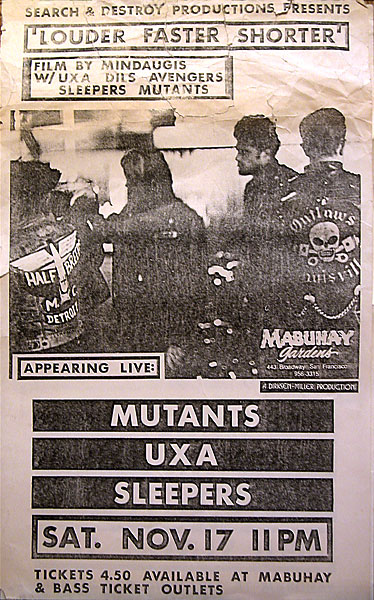 mutants UXA sleepers